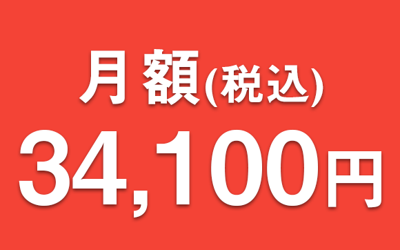 月額3万円