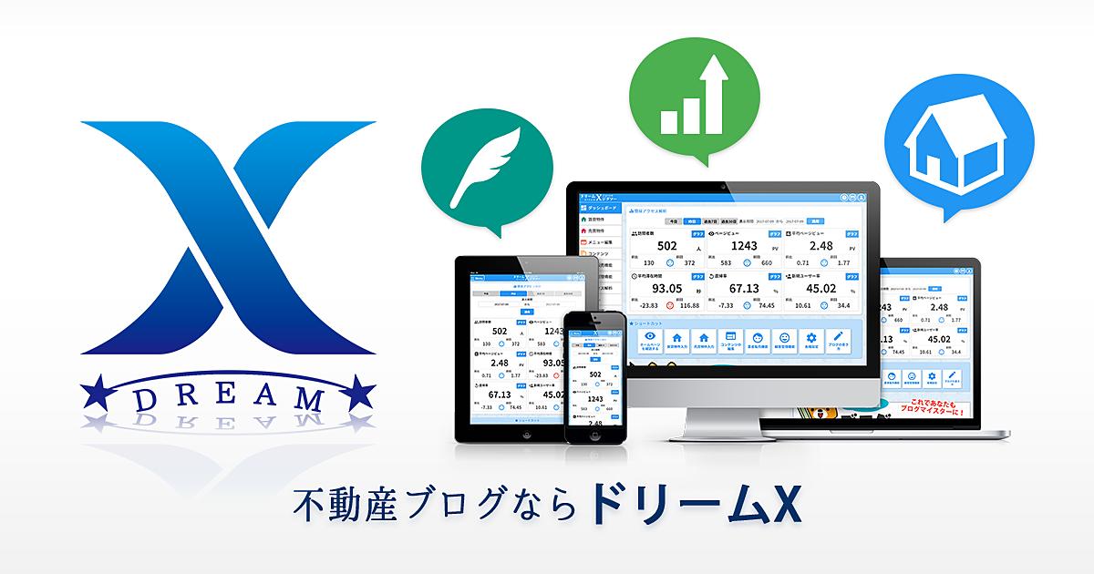ドリームXは操作体験後、納得してから導入する。解約も安心快適