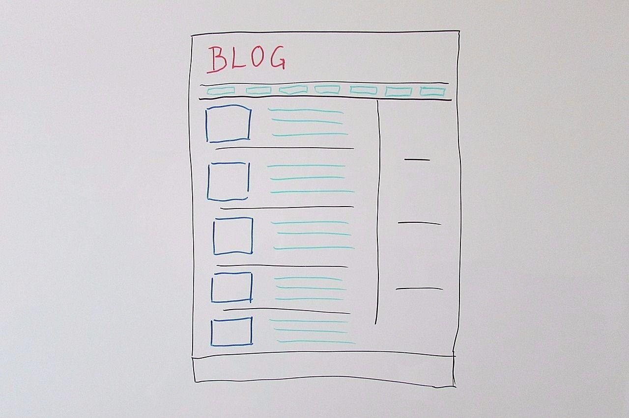 ブログのデザインはシンプルイズベスト